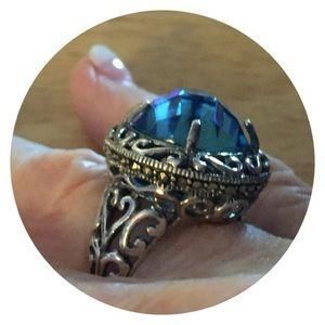 Jewelry - 🆕🌴Aquamarine 925 Stamped